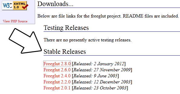Lazy Foo' Productions - Setting up freeGLUT on Linux